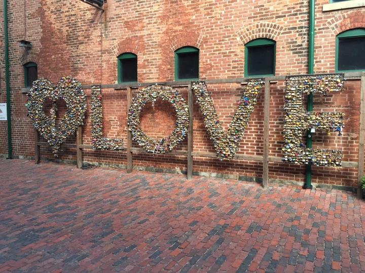 Love Locks Distillery District